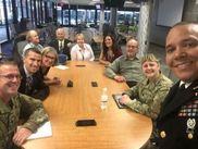 Army SGMPAO visit