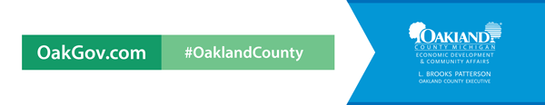 OakGov.com  |  #Oakland County  | Oakland County Executive L. Brooks Patterson