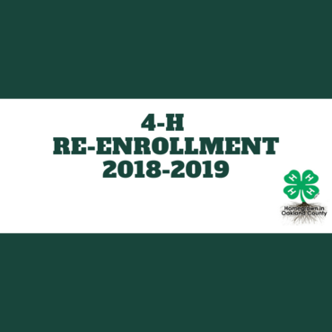 Oakland County 4-H Connections (September Newsletter)