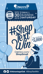 Small Business Saturday Shopper Card