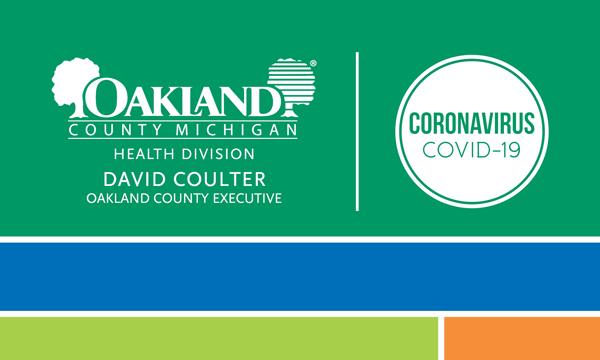 Oakland County Health | Coronavirus (COVID-19)