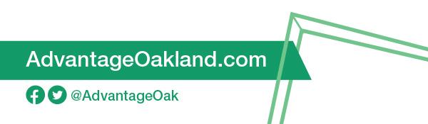 AdvantageOakland.com     Facebook & Twitter: @AdvantageOak