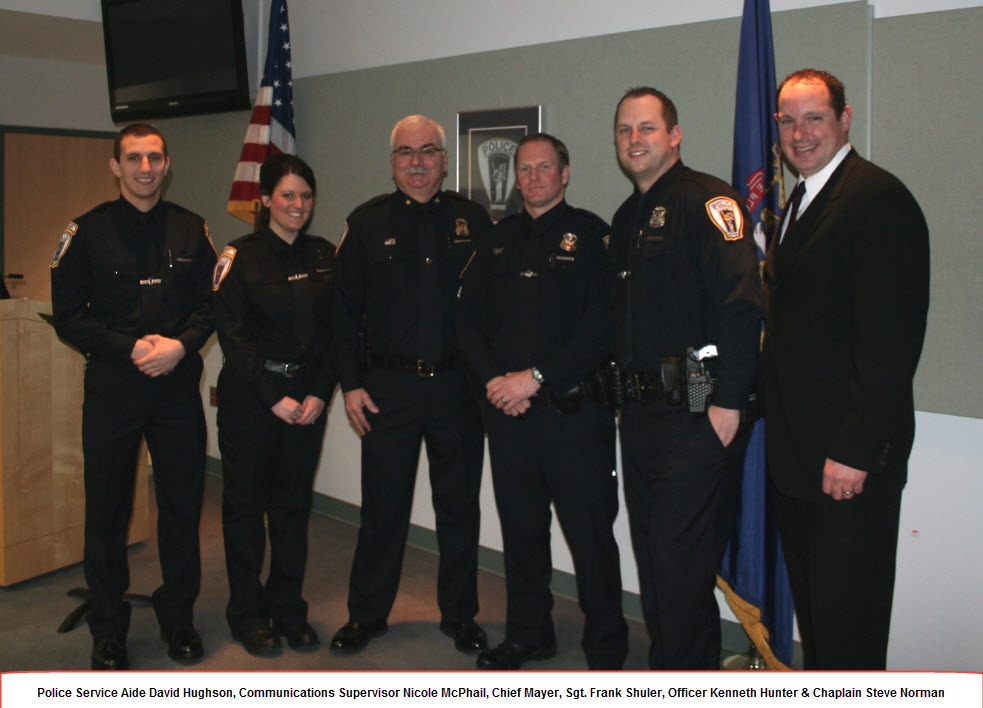 Troy Police Welcomes New Officer, Service Aide, Chaplain and