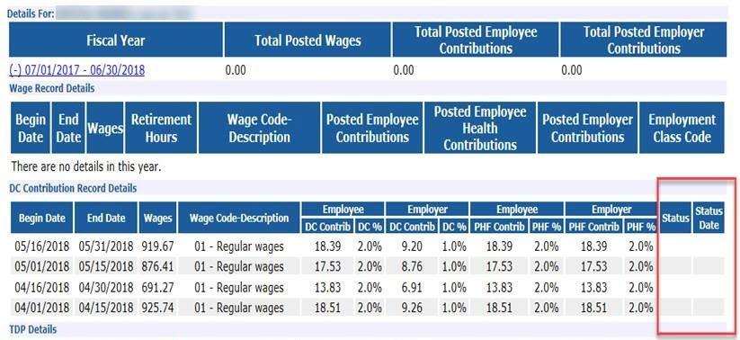 View Employee Information screenshot