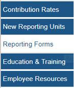 Reporting Forms - navigation bar