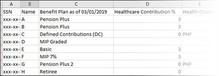 Download Detail spreadsheet