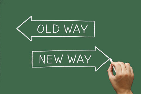 Old way to New way