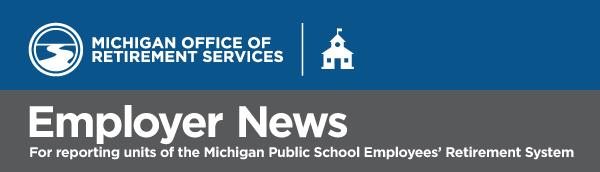 MPSRS Employer News