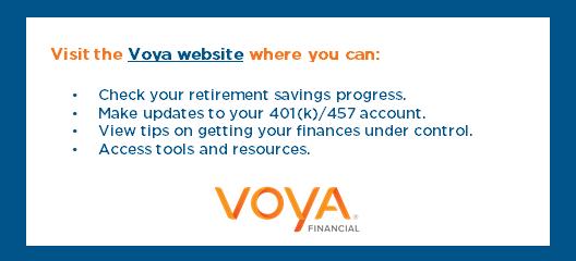 VOYA website