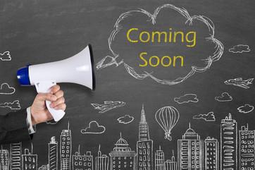 Coming soon megaphone