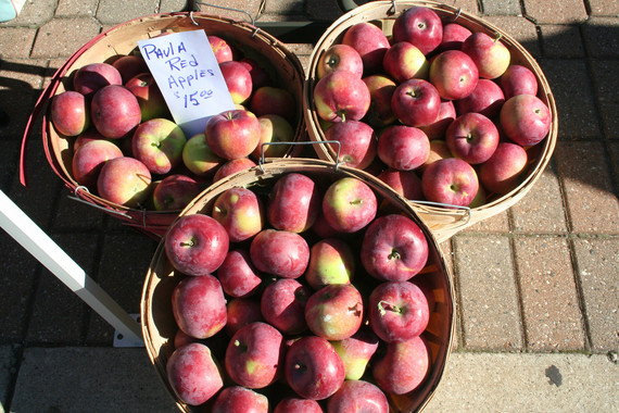 Holland Farmers Market_apples