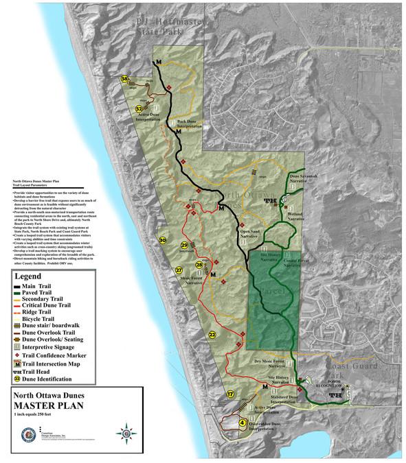 North Ottawa Dunes - master plan