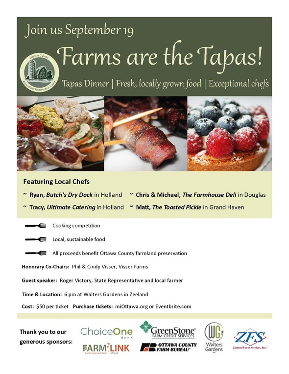 farms are the tapas
