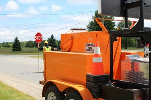 Remember to drive safe and stay alert in work zones!