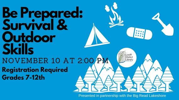 Outdoor Survival at Loutit Library