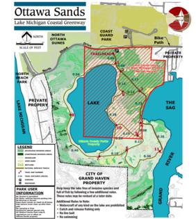 Ottawa Sands Map