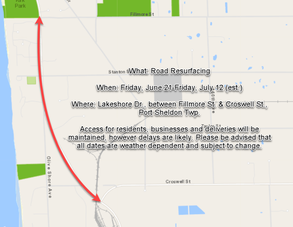 Lakeshore Drive Resurfacing