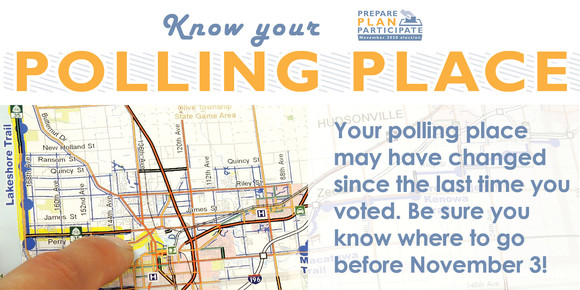 Know your polling place