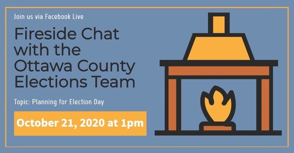 Fireside Chat Facebook Live Event 1 p.m. Wednesday, Oct. 21