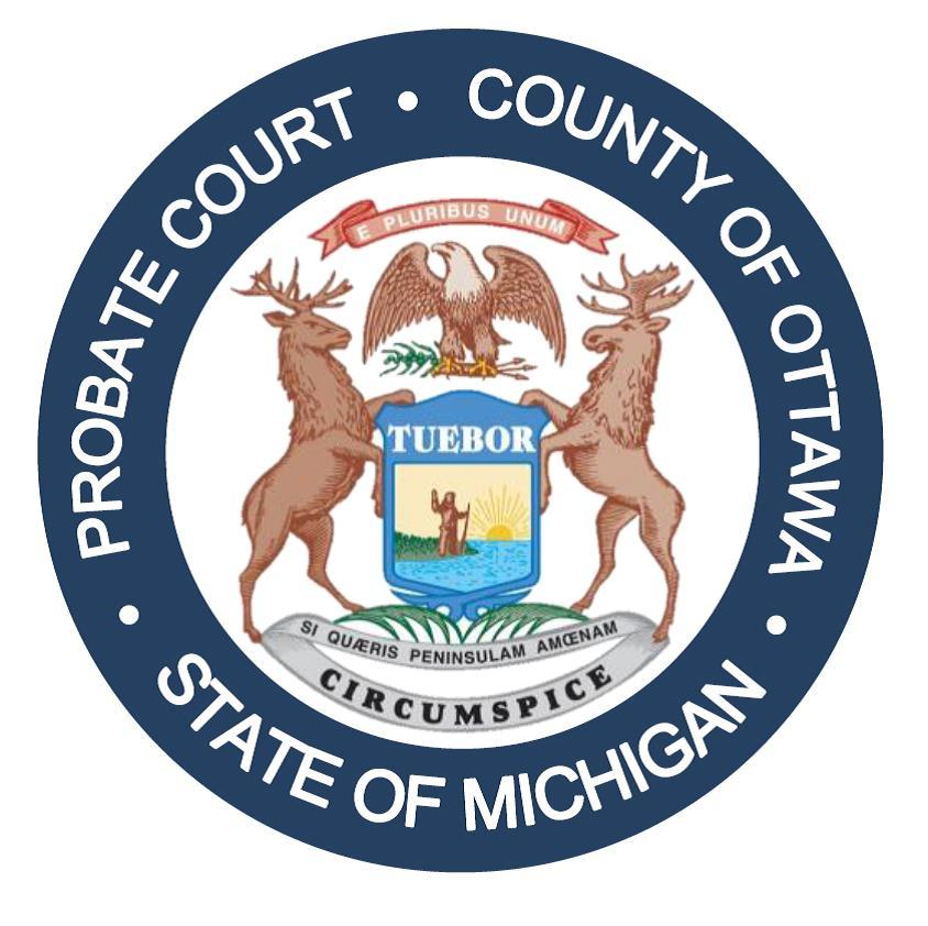 Ottawa County Probate Court Seal