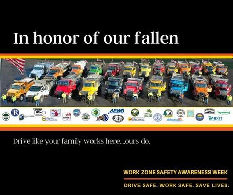 Work Zone Safety 2021 Graphic