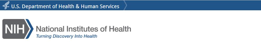 NIH Header