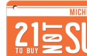 21 to Buy Not Supply logo