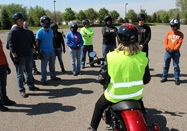 motorcycle training class