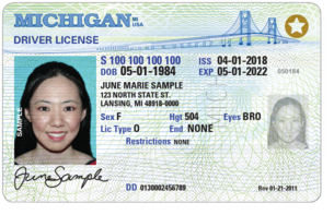 REAL ID-compliant license