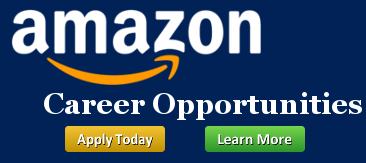 Amazon Career Opportunities