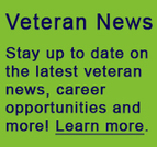 Learn more about the latest veteran news.