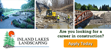 Apply today for a career with Inland Lakes Landscaping!