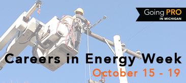 Careers in Energy Week October 15-19