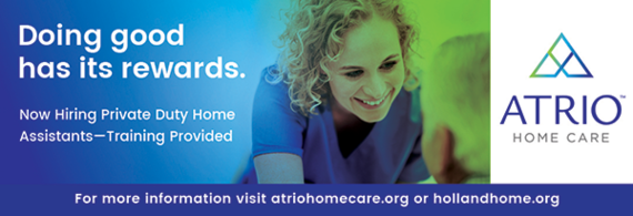 ATRIO Home Care is looking for Private Duty Home Assistants. Apply Today!
