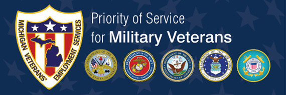 Priority Service for Michigan Veterans.