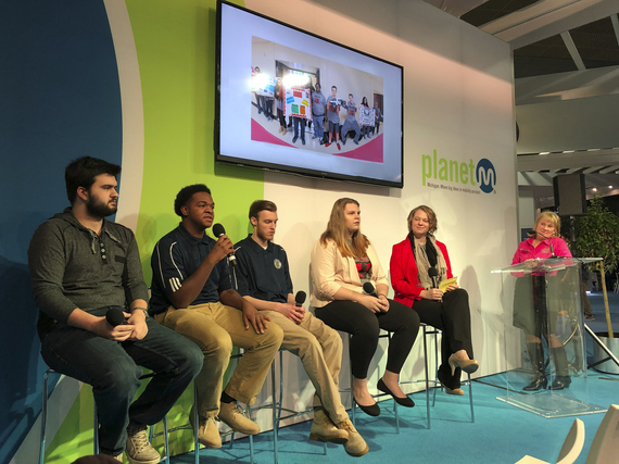 Future Automotive Careers Expo panel discussion during the 2018 North American International Auto Show