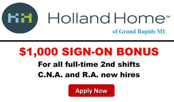 Start your career with Holland Home.