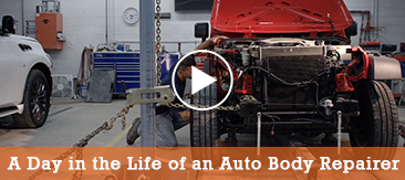 A Day in the Life of a Auto Body Repairer