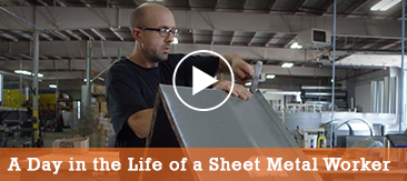 A Day in the Life of a Sheet Metal Worker