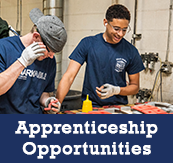Apprenticeship opportunities!
