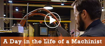 A Day in the Life of a Machinist.