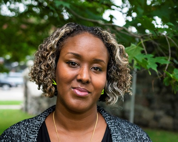 Suban Nur Cooley, cultural activist involved with various organizations in the Lansing area.