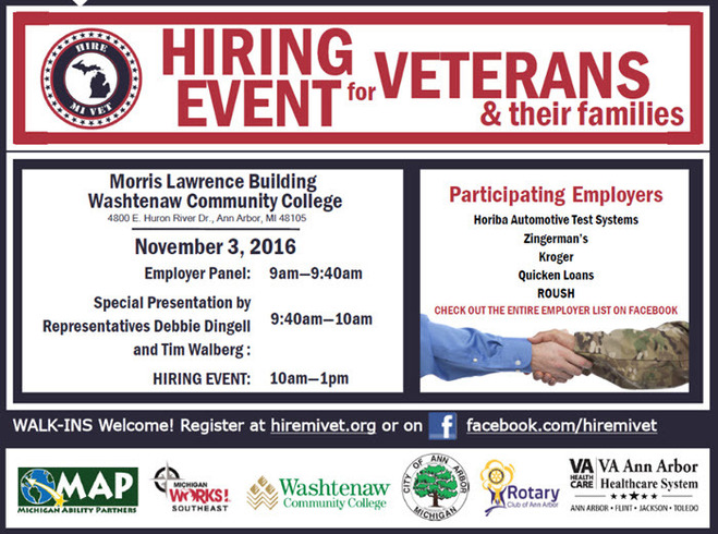 Hire MI Vets Hiring Fair