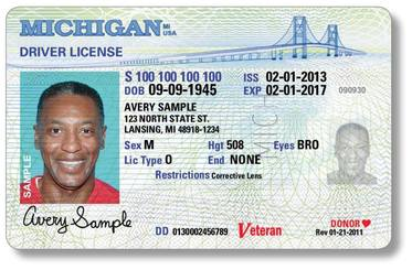 Veteran Driver License Designation