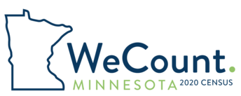 MN 2020 Census logo