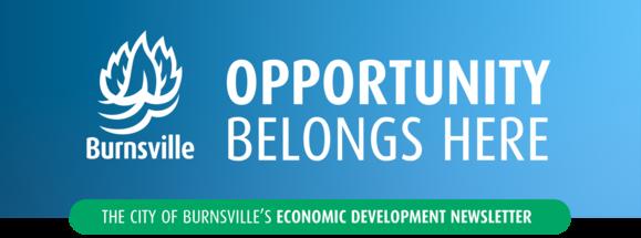 Economic Development Newsletter Header - Opportunity Belongs Here