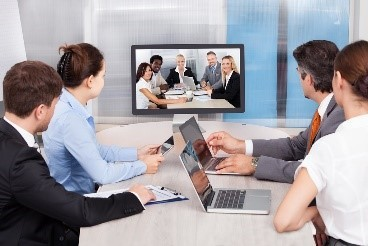 Tips for Blended Meetings Inperson Staff with Video Conference Staff