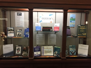 Education Law Display Case