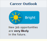 career outlook bright - new job opportunities are very likely