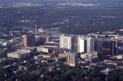 View of downtown Rochester